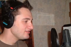 Michael Bihovsky (Michael) in Recording Studio